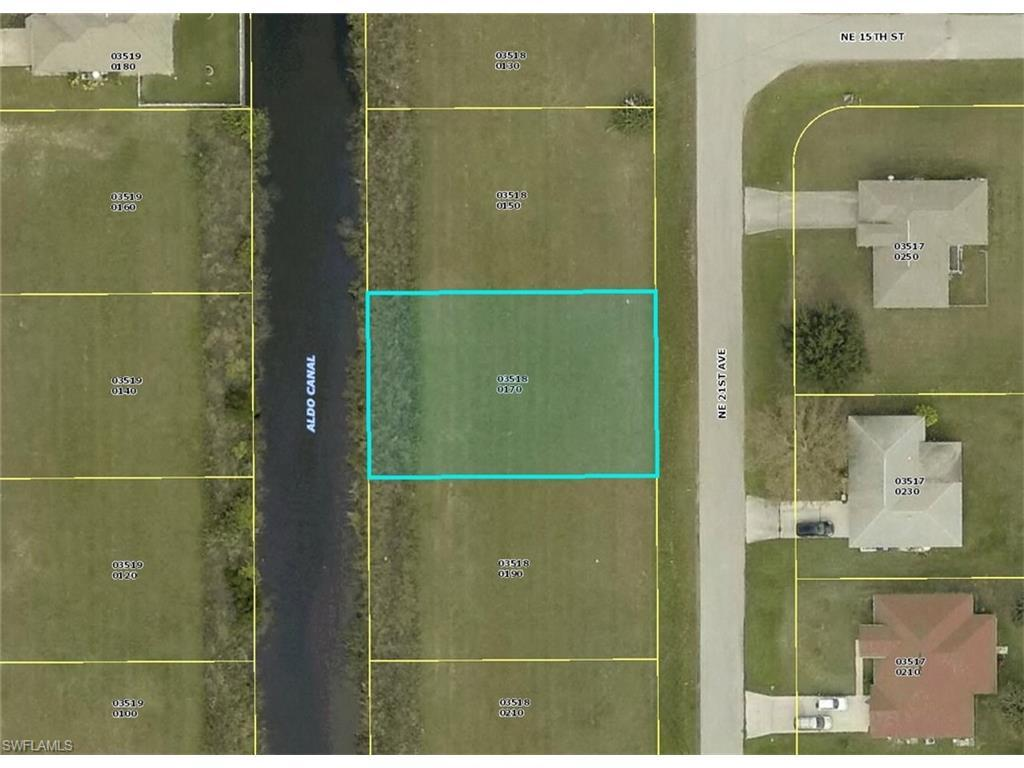 1422 NE 21st Ave, Cape Coral, FL 33909 (#216064464) :: Homes and Land Brokers, Inc