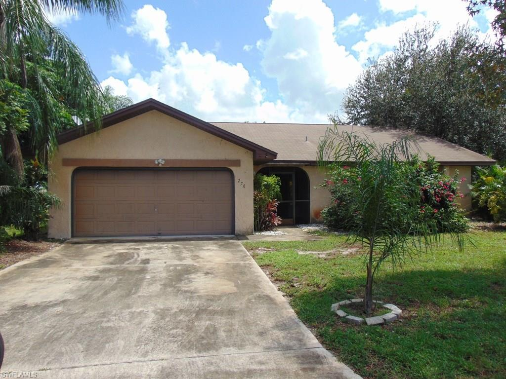 270 Ground Dove Cir, Lehigh Acres, FL 33936 (MLS #216065340) :: The New Home Spot, Inc.
