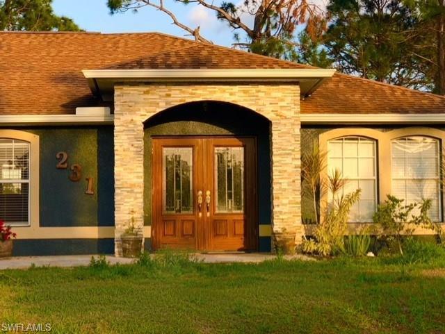 231 Lausanne Ave, Lehigh Acres, FL 33974 (MLS #218018763) :: The New Home Spot, Inc.
