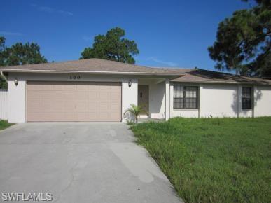 100 Ichabod Ave S, Lehigh Acres, FL 33973 (MLS #218062232) :: RE/MAX Realty Team