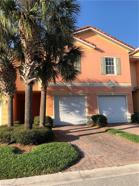 9822 Quinta Artesa Way #103, Fort Myers, FL 33908 (MLS #219010371) :: The New Home Spot, Inc.
