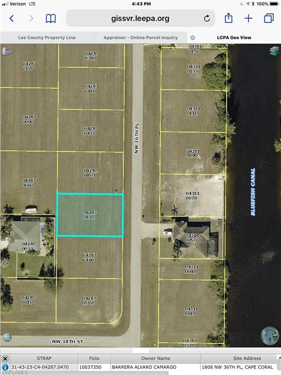 1808 NW 36th Pl, Cape Coral, FL 33993 (MLS #219021277) :: John R Wood Properties