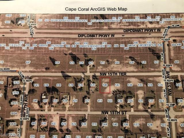546 NW 15th St, Cape Coral, FL 33993 (MLS #219044245) :: Kris Asquith's Diamond Coastal Group