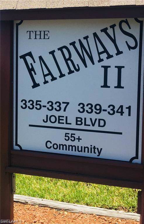 341 Joel Blvd #118, Lehigh Acres, FL 33936 (MLS #219080089) :: Palm Paradise Real Estate