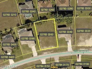 23 NW 28th Street, Cape Coral, FL 33993 (#220032183) :: The Dellatorè Real Estate Group