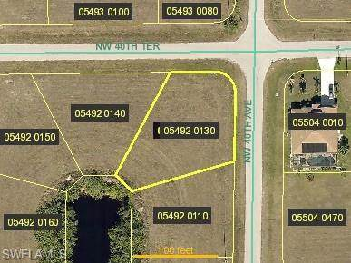 3932 NW 40th Terrace, Cape Coral, FL 33993 (#220036946) :: The Dellatorè Real Estate Group