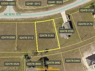 606 NE 16th Terrace, Cape Coral, FL 33909 (MLS #220049528) :: NextHome Advisors