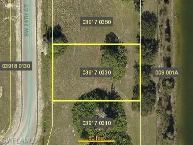367 SW 24th Court, Cape Coral, FL 33991 (#220059215) :: Jason Schiering, PA