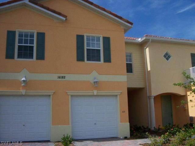 16182 Via Solera Circle #104, Fort Myers, FL 33908 (MLS #220063110) :: Florida Homestar Team