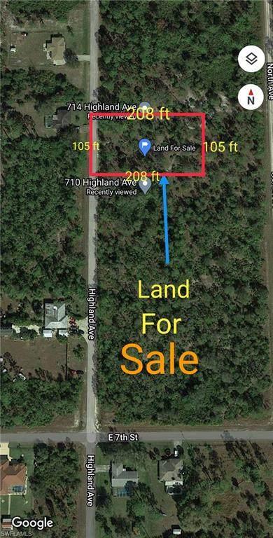 712 Highland Avenue, Lehigh Acres, FL 33972 (MLS #220077627) :: Premier Home Experts