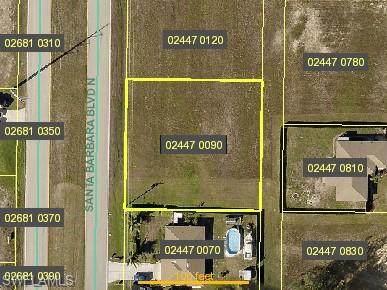 1307 Santa Barbara Boulevard N, Cape Coral, FL 33993 (MLS #221005145) :: Clausen Properties, Inc.