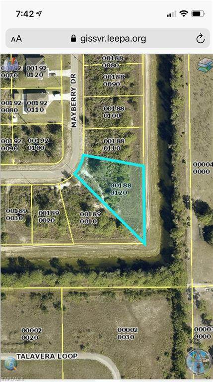 1854 Mayberry Drive, Lehigh Acres, FL 33972 (MLS #221013942) :: Domain Realty