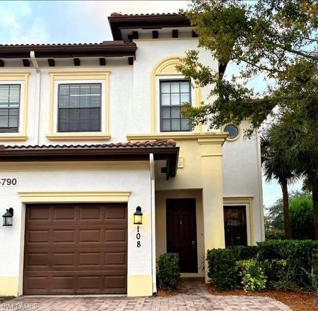 15790 Portofino Springs Blvd # 108, Fort Myers, FL 33908 (MLS #221014631) :: Realty Group Of Southwest Florida