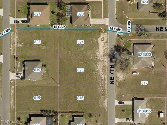 820 NE 7th Place, Cape Coral, FL 33909 (MLS #221033864) :: Wentworth Realty Group