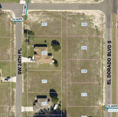 212 El Dorado Boulevard S, Cape Coral, FL 33991 (MLS #221033869) :: Wentworth Realty Group