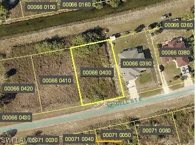 737 Newell Street E, Lehigh Acres, FL 33974 (#221044973) :: The Dellatorè Real Estate Group