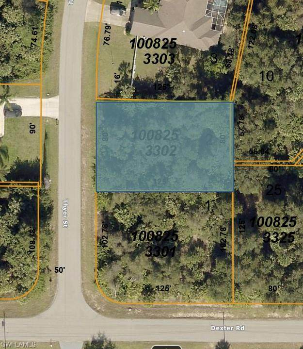 TBD Thyer Street, North Port, FL 34288 (MLS #221045160) :: The Naples Beach And Homes Team/MVP Realty