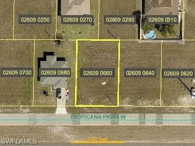109 Tropicana Parkway W, Cape Coral, FL 33993 (MLS #221045783) :: BonitaFLProperties