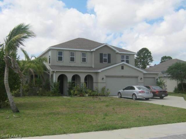 8180 Fountain Mist Boulevard, Lehigh Acres, FL 33972 (MLS #221060442) :: Realty World J. Pavich Real Estate