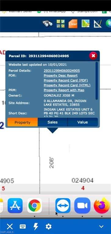 Allamanda Drive, INDIAN LAKE ESTATES, FL 33855 (#221070383) :: MVP Realty