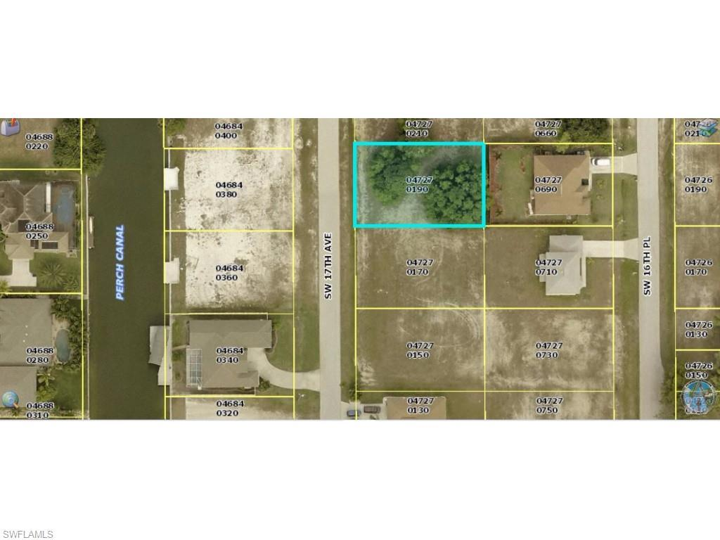 3813 SW 17th Ave, Cape Coral, FL 33914 (#215040650) :: Homes and Land Brokers, Inc