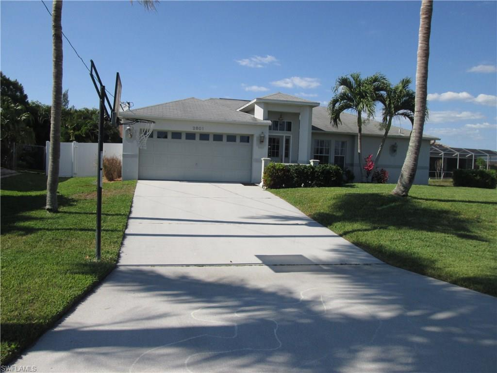 2801 SW 25th St, Cape Coral, FL 33914 (MLS #216031505) :: The New Home Spot, Inc.