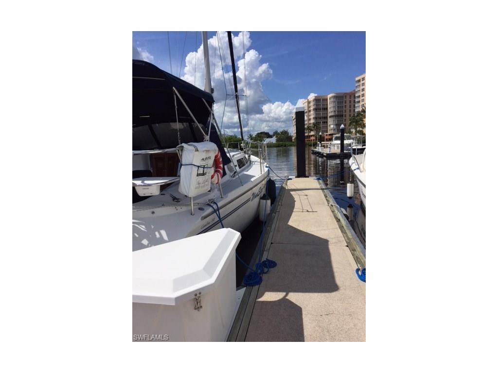 38 Ft. Boat Slip At Gulf Harbour I-5, Fort Myers, FL 33908 (#216037364) :: Carrington Real Estate Services