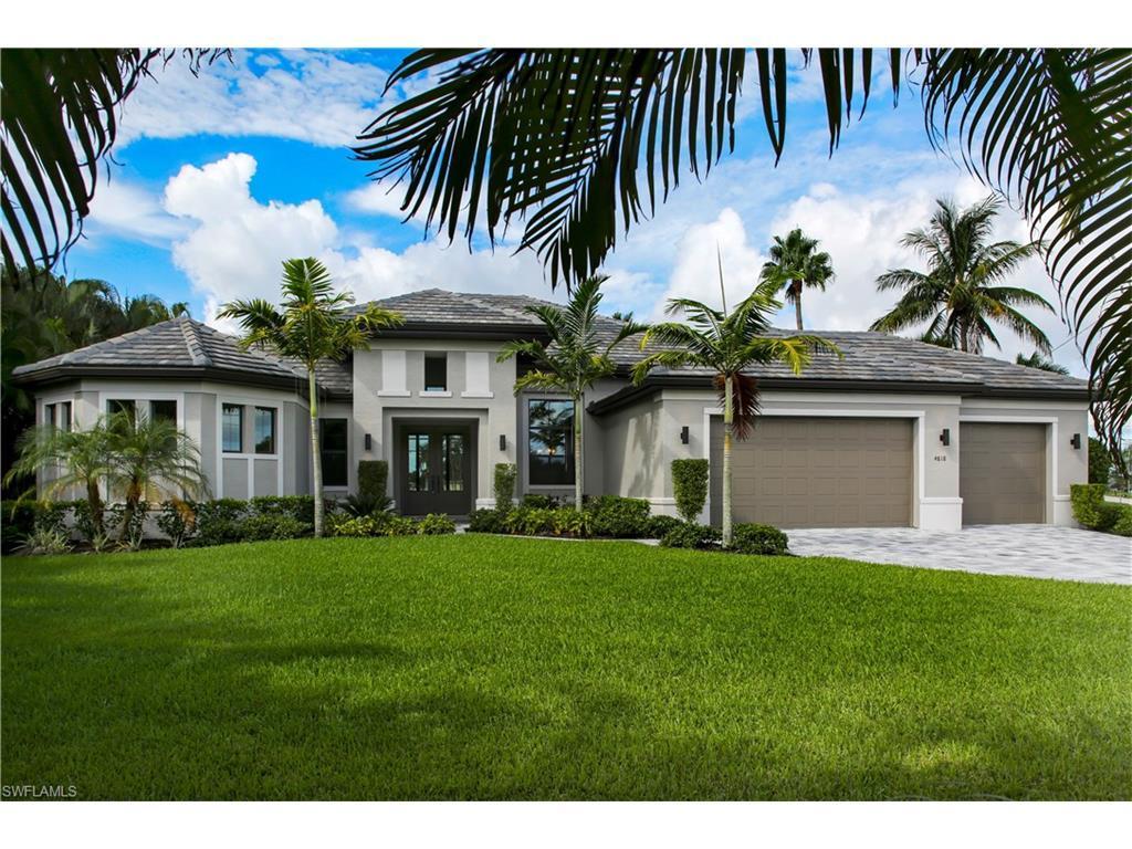 4818 Agualinda Blvd, Cape Coral, FL 33914 (MLS #216044529) :: The New Home Spot, Inc.