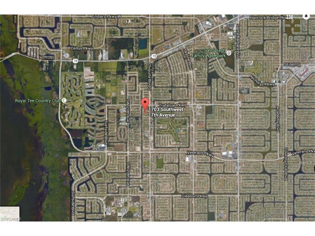 1703 SW 17th Ave, Cape Coral, FL 33991 (#216047291) :: Homes and Land Brokers, Inc