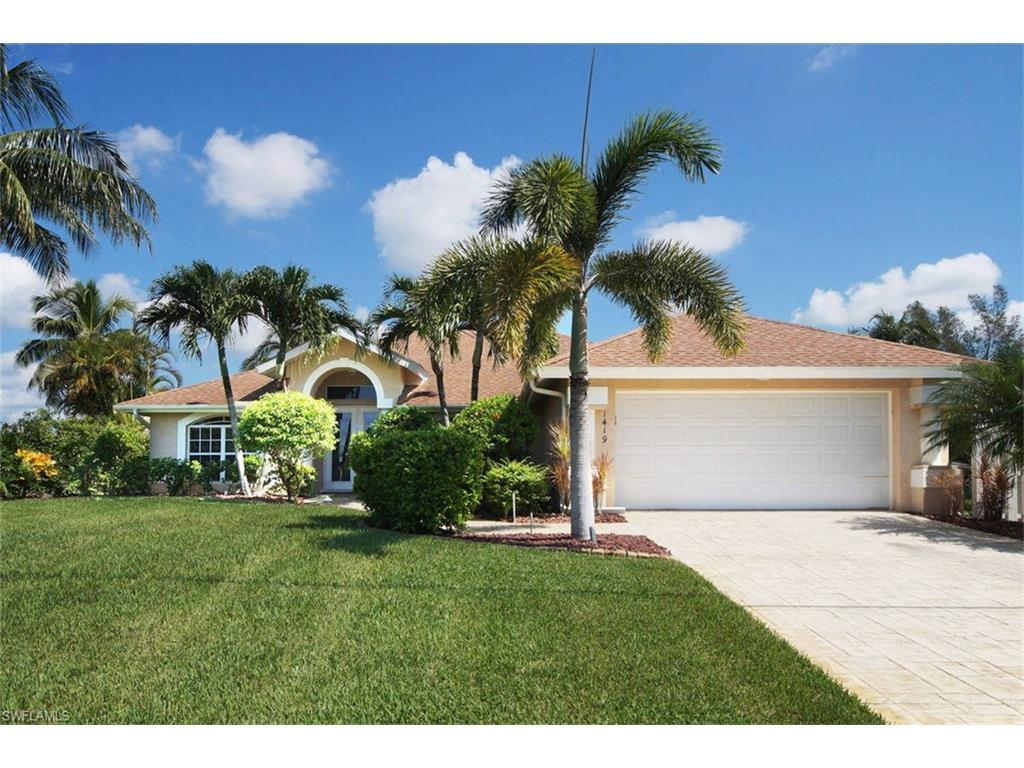 1419 SW 38th St, Cape Coral, FL 33914 (MLS #216051949) :: The New Home Spot, Inc.