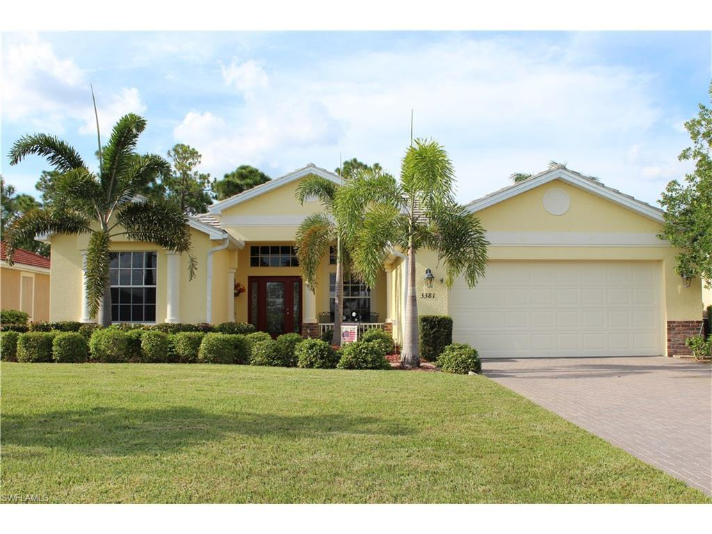 3381 Magnolia Landing Ln, North Fort Myers, FL 33917 (MLS #216053436) :: The New Home Spot, Inc.
