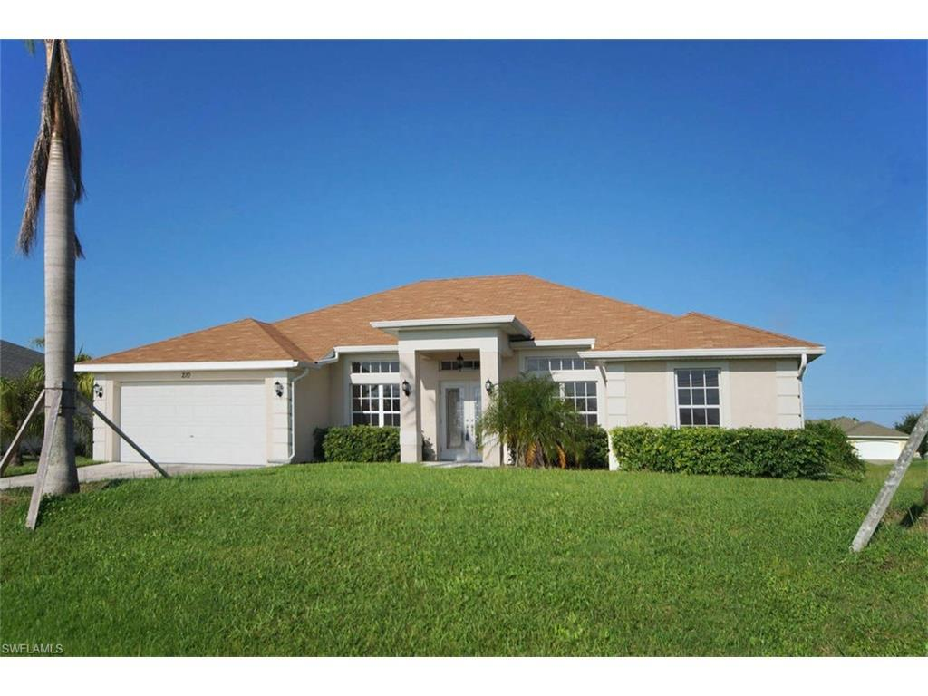 210 NW 27th Ave, Cape Coral, FL 33993 (MLS #216057504) :: The New Home Spot, Inc.