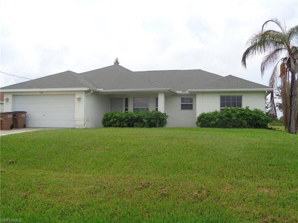 124 NW 25th Pl, Cape Coral, FL 33993 (MLS #216058183) :: The New Home Spot, Inc.