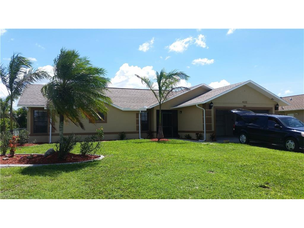 402 SW 43RD Ter, Cape Coral, FL 33914 (MLS #216058741) :: The New Home Spot, Inc.