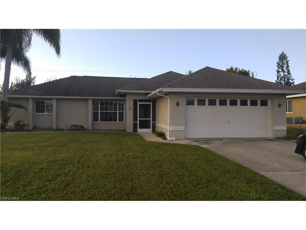 1418 SW 14th Ter, Cape Coral, FL 33991 (MLS #216059280) :: The New Home Spot, Inc.