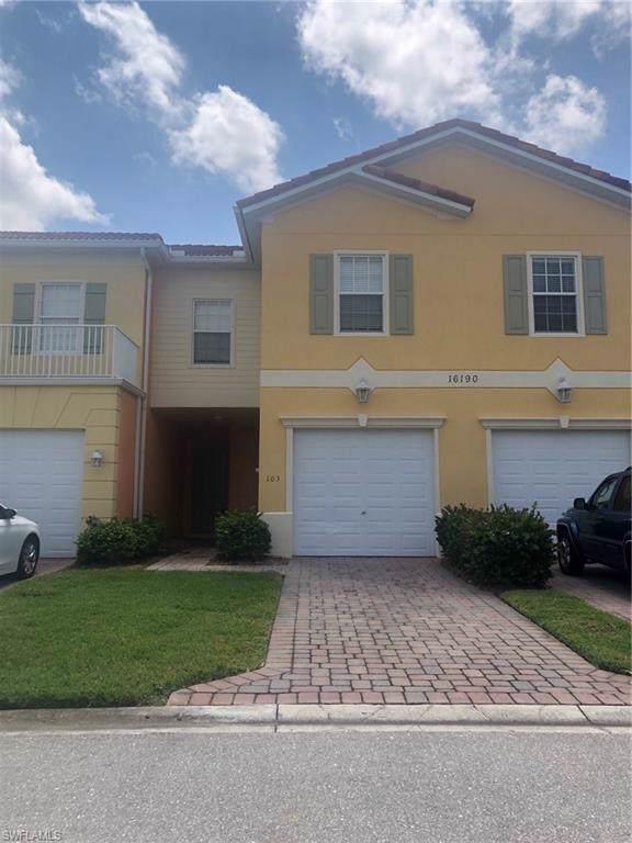 16190 Via Solera Cir #103, Fort Myers, FL 33908 (#219054747) :: The Dellatorè Real Estate Group