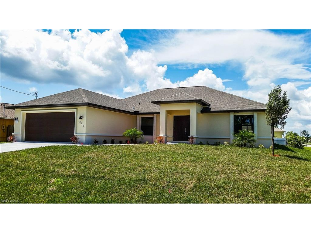 2515 SW 30th St, Cape Coral, FL 33914 (MLS #216013487) :: The New Home Spot, Inc.