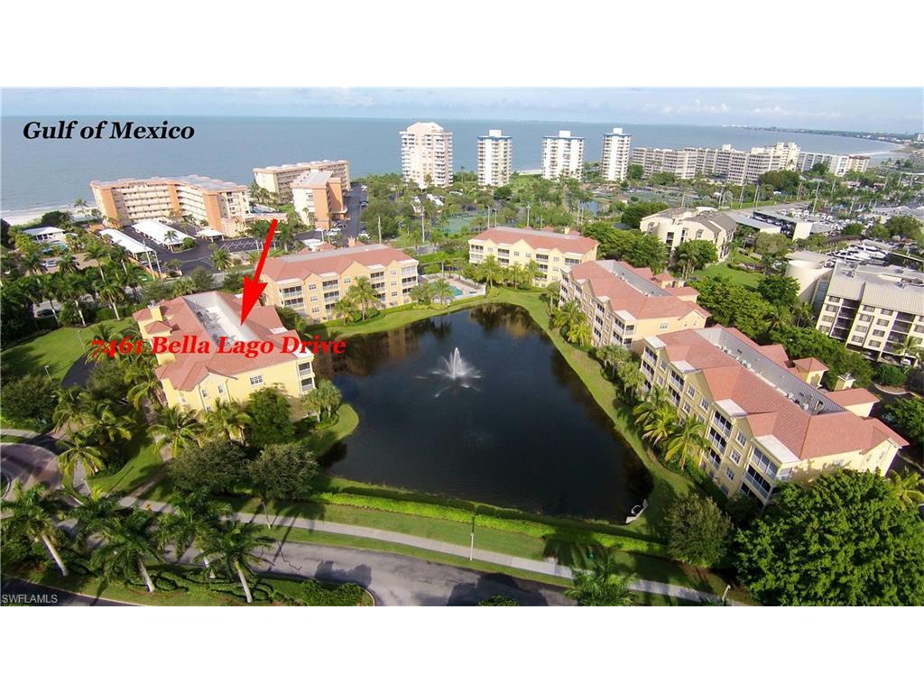7461 Bella Lago Dr #243, Fort Myers Beach, FL 33931 (MLS #216045165) :: The New Home Spot, Inc.