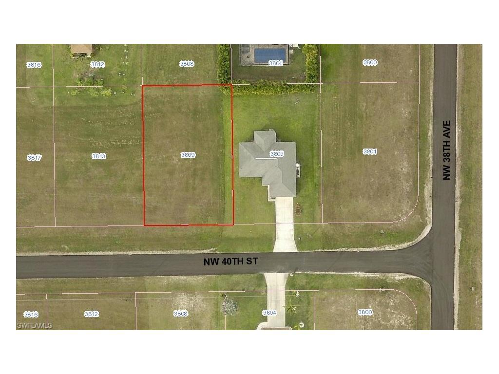 3809 NW 40th St, Cape Coral, FL 33993 (#216045944) :: Homes and Land Brokers, Inc