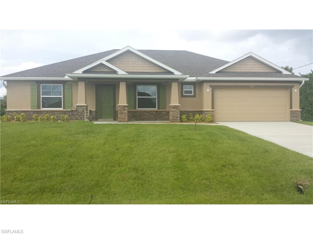 220 NW 29th Pl, Cape Coral, FL 33993 (#216055643) :: Homes and Land Brokers, Inc