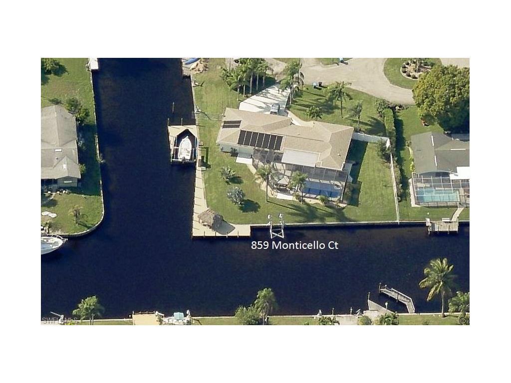 859 Monticello Ct, Cape Coral, FL 33904 (MLS #216060430) :: The New Home Spot, Inc.