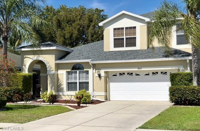 421 Emerald Cove Ln, Cape Coral, FL 33991 (MLS #219002856) :: RE/MAX Realty Group