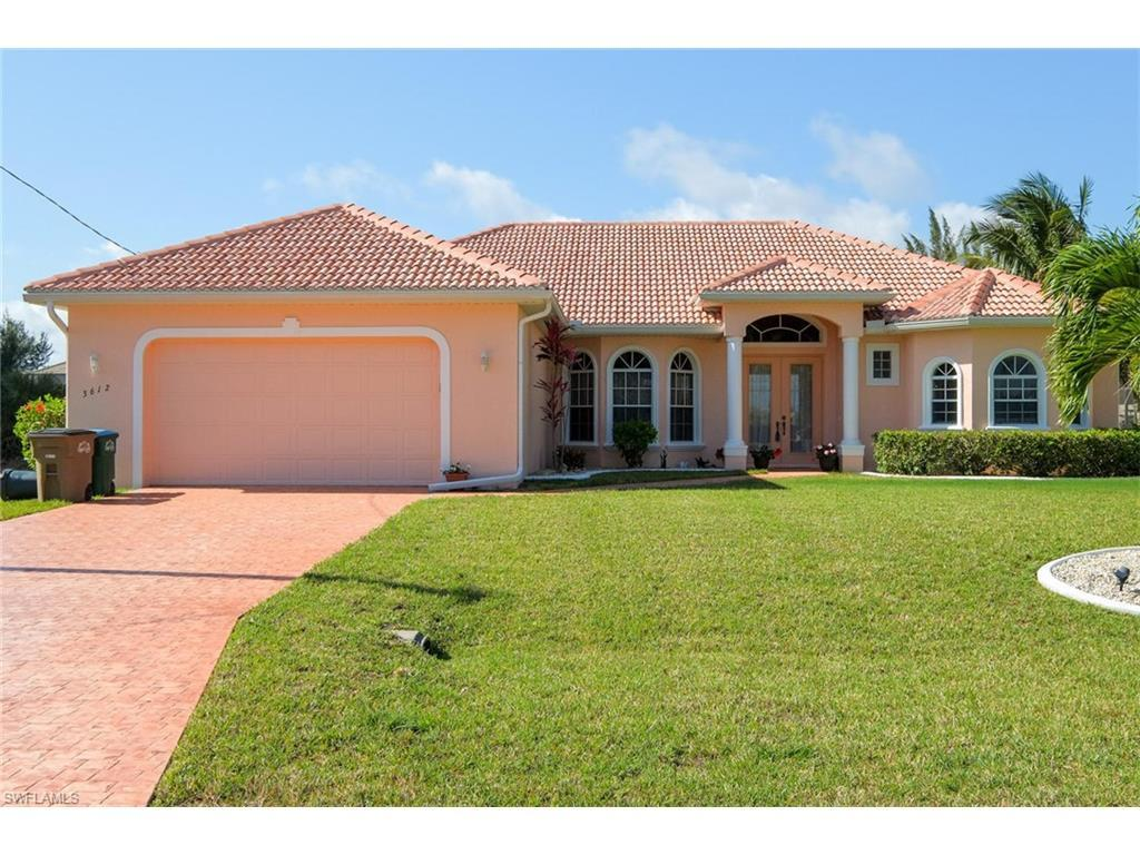 3612 SW 3rd Ter, Cape Coral, FL 33991 (MLS #216004757) :: The New Home Spot, Inc.