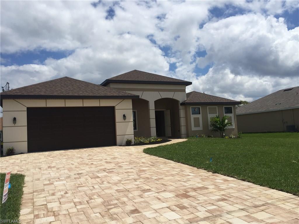 3821 Agualinda Blvd, Cape Coral, FL 33914 (MLS #216021698) :: The New Home Spot, Inc.