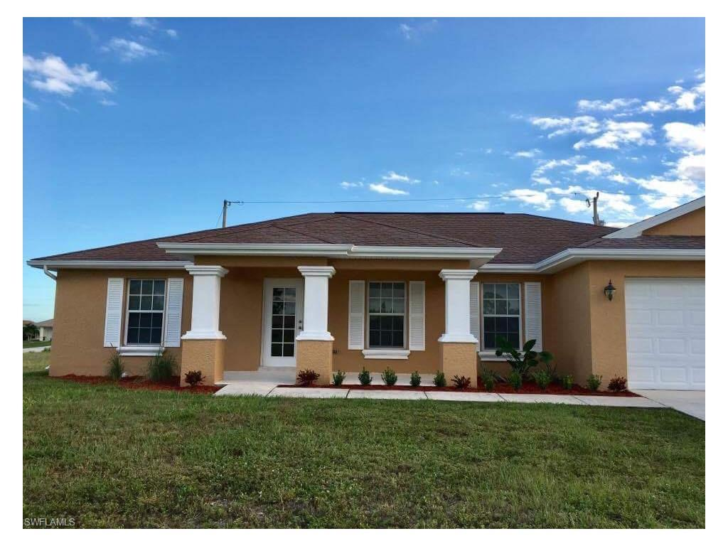1304 NW 19th St, Cape Coral, FL 33993 (MLS #216045130) :: The New Home Spot, Inc.