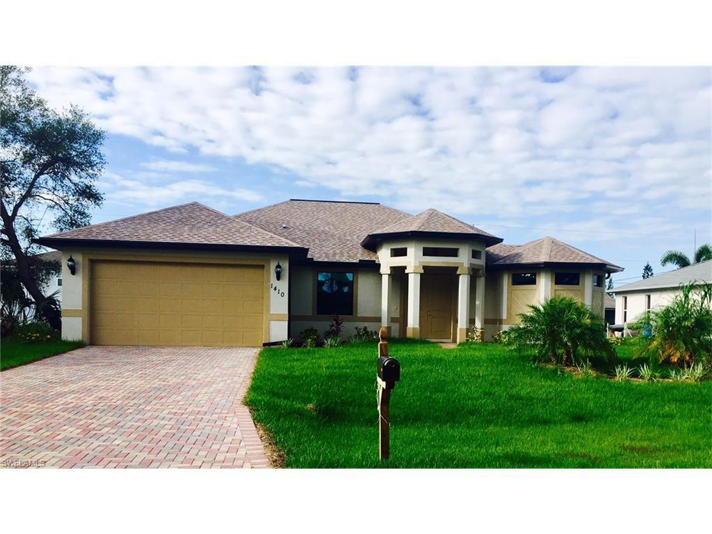 1410 SW 14th St, Cape Coral, FL 33991 (MLS #216050093) :: The New Home Spot, Inc.