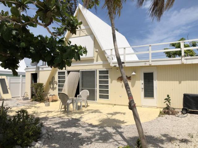 431 4Th Road, Key Colony, FL 33051 (MLS #579759) :: KeyIsle Realty
