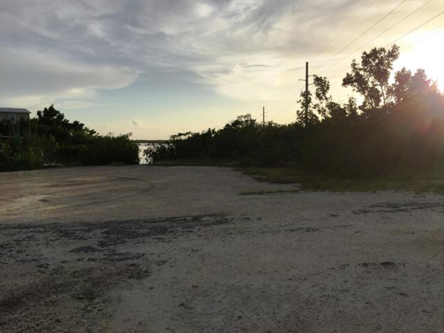 0 Blue Water Drive, Saddlebunch, FL 33040 (MLS #581999) :: Coastal Collection Real Estate Inc.