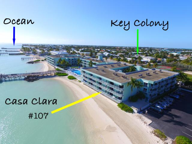 201 E Ocean Drive 1-107, Key Colony, FL 33051 (MLS #583163) :: Key West Property Sisters