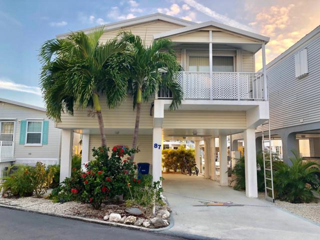 701 Spanish Main Drive #87, Cudjoe Key, FL 33042 (MLS #583838) :: Key West Luxury Real Estate Inc